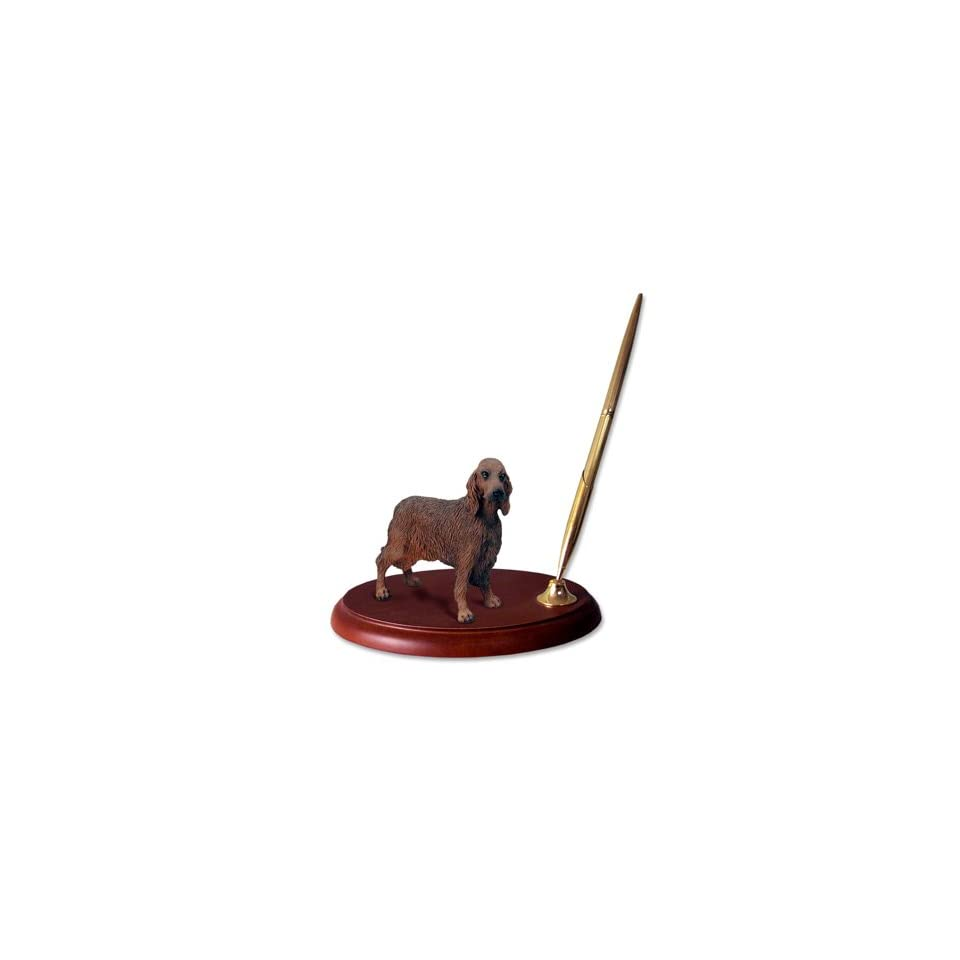 Irish Setter Dog Desk Set