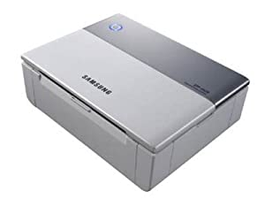 SAMSUNG SPP-2020 PHOTO PRINTER PRINTS 4x6 PRINTS USING THERMAL DYE TRANSFER TECHNOLOGY IN 60 SECS; PICTBRIDGE FOR PRINTING W/OUT A COMPUTER