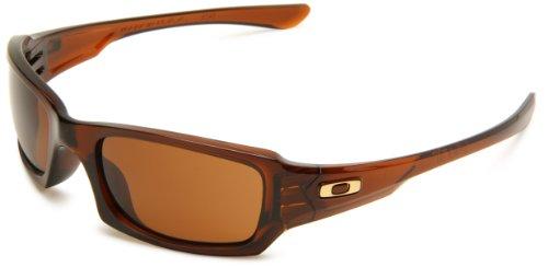 Oakley Uni Sonnenbrille Fives Squared, rootbeer/dark bronze, 03-442