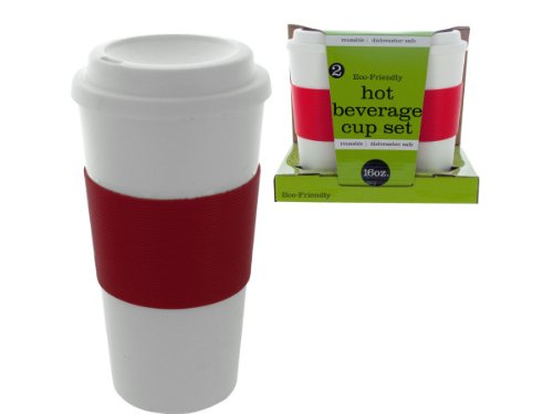 Handy Helpers Bulk Buys Eco-Friendly Coffee Mug, 2-Pack