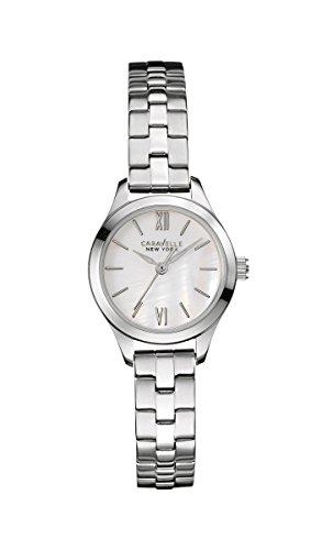 Caravelle New York reloj de pulsera para mujer 43L177 89