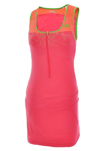 Adidas Womens adiZero Tennis Dress - Pink - V11559