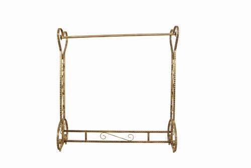 Brand New Free Standing Decorative Antique Bronze Iron Garment Coat Rack (Y020C) 1