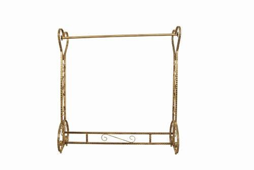 Brand New Free Standing Decorative Antique Bronze Iron Garment Coat Rack (Y020C) 1