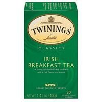 Twinings Irish Breakfast Tea 20 Bag (Pack Of 6)
