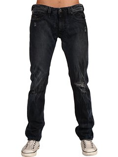 Brand New Diesel Thanaz 8V9 Mens Jeans, 08V9, Cool of Coal Collection, Slim Fit Tapered Leg (34 x 32)
