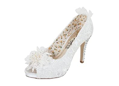 Flo Ivory Wedding Shoes By Perfect Bridal Shoes Size 3 Shoes
