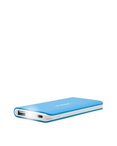 UNOTEC Cargador de Batería Portable 4000 Mah 4Power Slim2 Azul