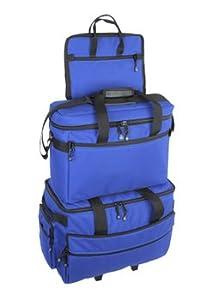BlueFig TB19 Sewing Machine Carrier/Project Bag/Notion Bag (Cobalt) by Bluefig