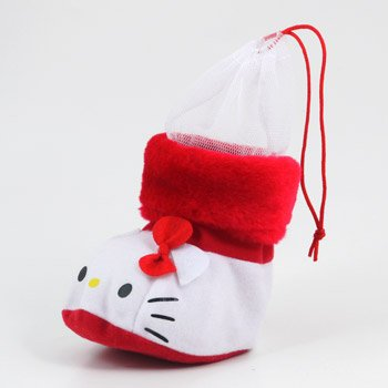 Hello Kitty Christmas Bootie