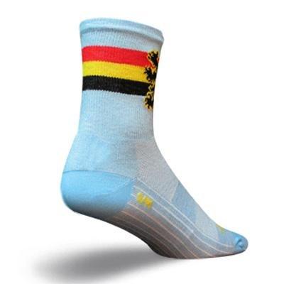Buy Low Price SockGuy Classic 5in Belgium Cycling/Running Socks (B005TAW74S)
