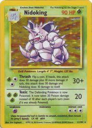 Pokemon - Nidoking (11) - Base Set - Holo - 1
