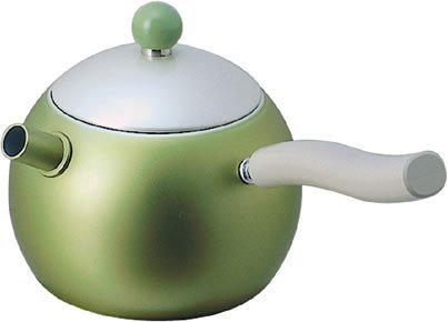 Tea Kettle With Infuser Al 0.65Liter, Green By Cook Bessel