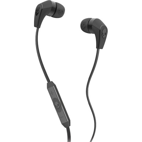 Skullcandy 50/50 With Mic3 Earphones/Earbuds Premium Headphone - Carbon Grey/Black / One Size