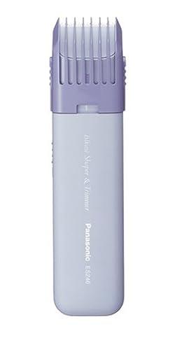 Panasonic ES246AC, recortadora y delineadora de zona del bikini para mujeres, con diseño compacto, portátil y ajustes de recorte, funciona con batería.