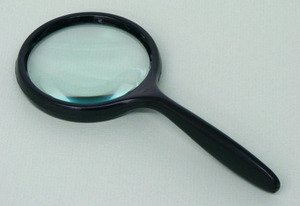 SEOH Magnifying Glass Plastic Mount Plastic Handle 4 inch - 1