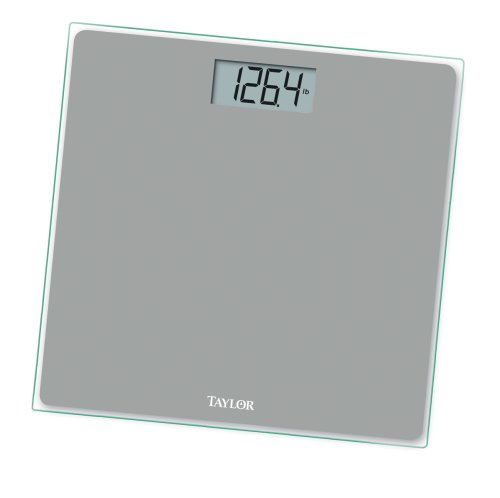 Cheap Bathroom Scales Free Delivery: Buy Low Price Taylor 7530 (Silver) Digital Bath Scale