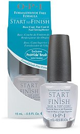 OPI Treatment Start-To-Finish, Base Coat, Top Coat, and Nail Strengthener (Formealdehyde Free)