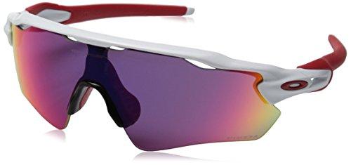 mens sunglasses oakley  oakleymensradaroo921101shieldsunglasses