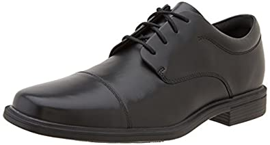 Rockport Men's Ellingwood Cap Toe Oxford,Black,7 M