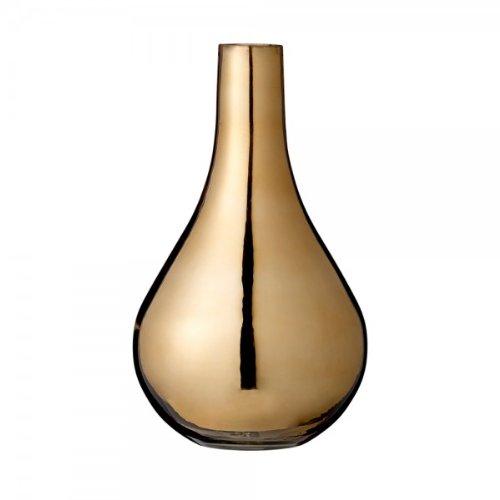 Vase rund gold von Bloomingville