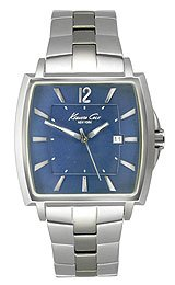 Kenneth Cole New York Bracelet Marine Blue Dial Men's watch #KC9078