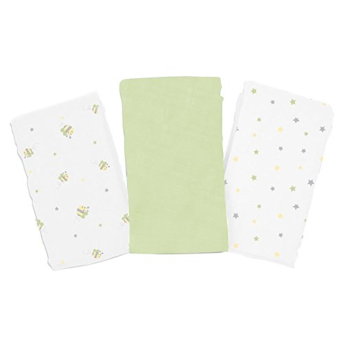 Summer Infant SwaddleMe 3 Pack Cloud Blankets - Bumble Bee - 1