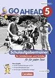 Go Ahead - Ausgabe für die sechsstufige Realschule in Bayern: 5. Jahrgangsstufe - Schulaufgabentrainer: Mit CDs und Lösungsheft title=