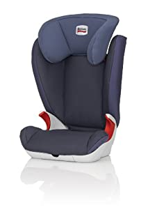 Britax KID II Group 23 4 - 12 Years High-Backed Booster Car Seat (Crown Blue)
