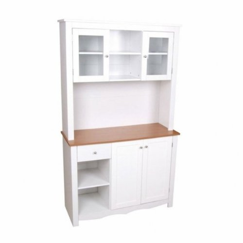 Buy low price ami country kitchen 2 piece buffet and hutch for 7 x 9 kitchen cabinets