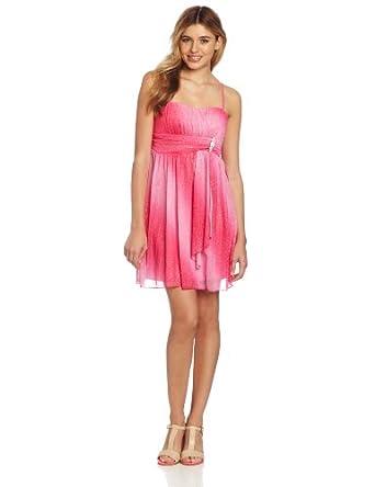 Ruby Rox Juniors Emma Dress, Bubblegum, Medium