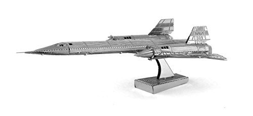Fascinations Metal Earth SR71 Blackbird Airplane 3D Metal Model Kit (Building Models For Adults compare prices)