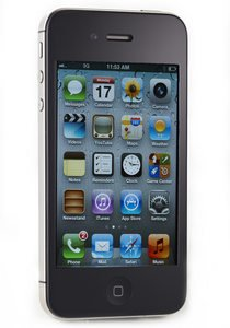 gadget geek - apple md235fa iphone noir