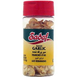 Garlic Sliced 1.5oz Sadaf by SADAF