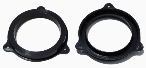 Nissan / Infiniti 6.5 Inch Black Plastic Speaker Adapter Bracket Ring