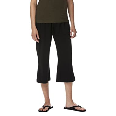 Product Image Liz Lange® for Target® Maternity Fold-Over Panel Crop Pants - Black