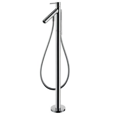Hansgrohe 10456821 Axor Stark Freestanding Tub Filler with Handshower - Brushed Nickel (Pictured in Chrome) (Hansgrohe Freestanding Tub Filler compare prices)
