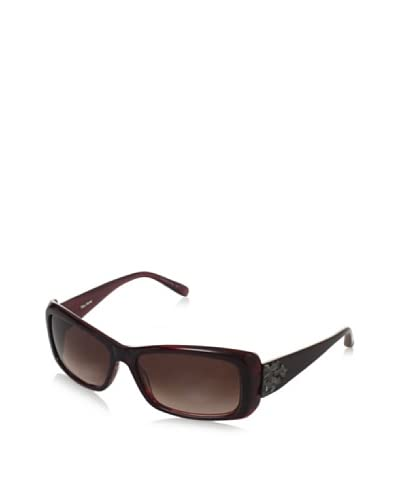 Vera Wang V252 Rectangle Sunglasses  – Burgundy