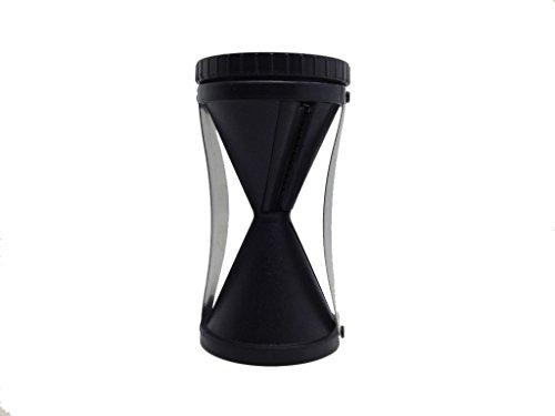 sufely® Reibe, Edelstahl Schraube Schnitt Gerät & # xff1b; Multifunktions Reibe & # xff1b; Shred Trichter Gerät & # xff1b; Geschirr. schwarz