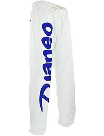 Pantalon Jogging Djaneo Rio Coton Blanc et Bleu Taille XXS