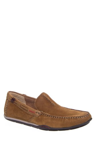 Clarks Originals Men's Rango Rumba Driving Moc Slip On Shoe - Tan Nubuck