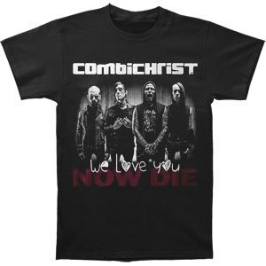 Michaner Walosde Combichrist Men's Band T-shirt Black Large
