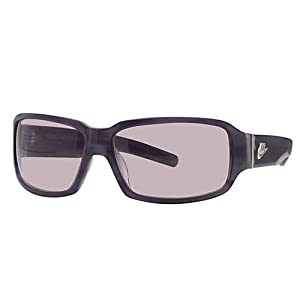 Nike Supreme Court Blue Graphite Sunglasses with Blue Lens