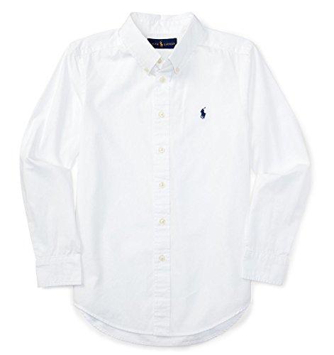 (ポロラルフローレン)POLO RALPH LAUREN Blakeコットンシャツ ホワイト [並行輸入品]