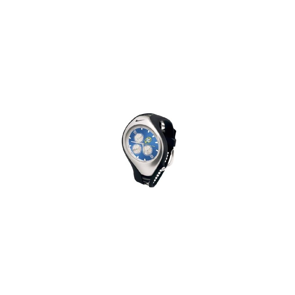 209791f34a00 Nike Triax Swift 3I Brazil Club Team 3 Dials Watch Model WD0007 002 ...