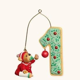 My First Christmas Child Age Collection 2008 Hallmark Ornament