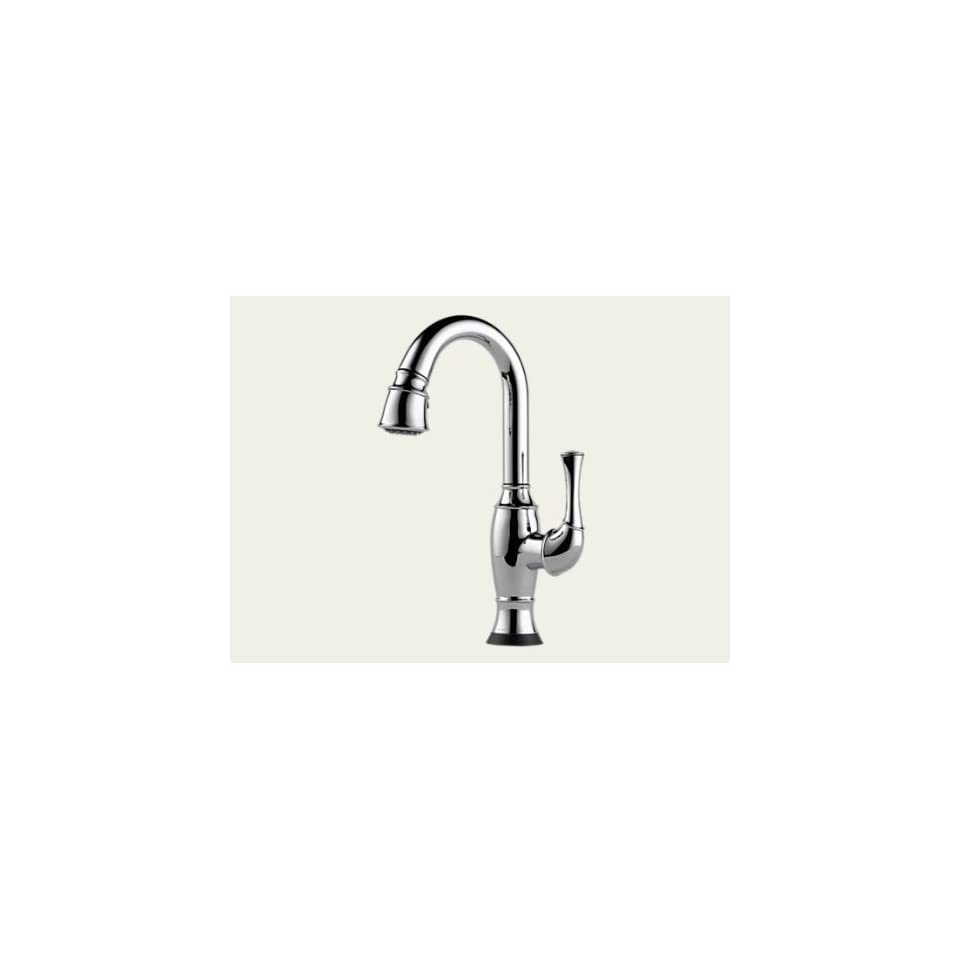 Brizo Talo Polished Chrome Pulldown Bar/Prep Faucet