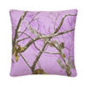 Realtree Ap Lavender Square Pillow front-1004512