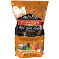 EVANGER'S 776603 Grain Free Meat Lover'S Medley with Rabbit Dry Food for Dog, 33-Pound