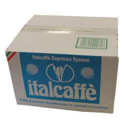Get 100 Italcaffè Espresso Decaffeinated Capsules Compatible Lavazza Espresso Point by Italcaffè S.p.A.
